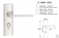 Awesum High Quality Modern Small-size Lock A08407SSG